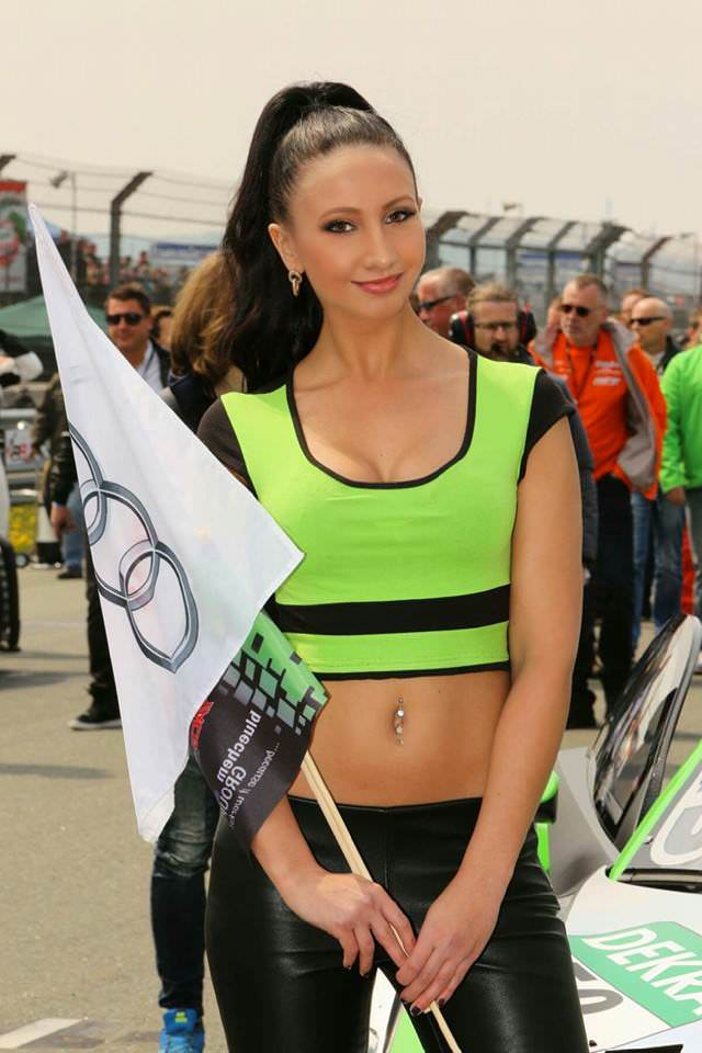 Grid Girl aus Berlin